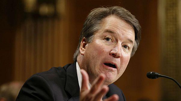 Brett Kavanaugh, candidat à la Cour suprême américaine, devant le Sénat