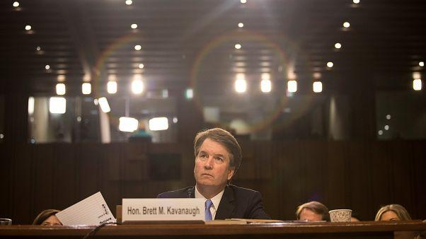 Supreme-Court-Anwärter Brett Kavanaugh Anfang September bei einer Anhörung