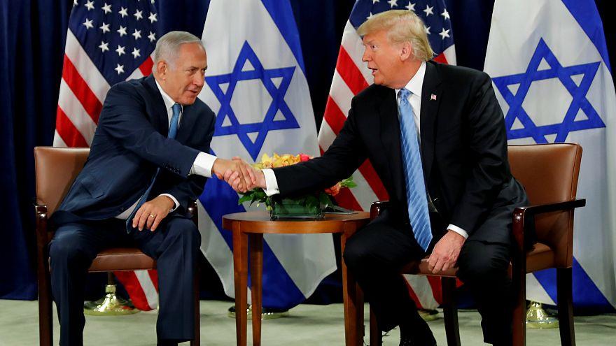 Trump: Filistin-İsrail meselesi için iki devletli çözüm istiyorum