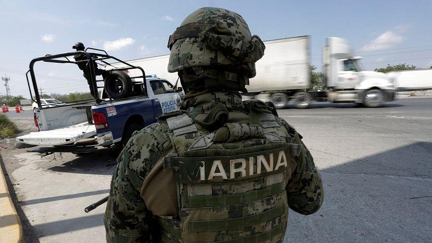 Meksika'da ordu polisin silah ve telsizine el koydu