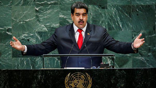Maduro parla all'Onu