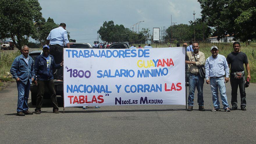 Venezuela'da 60 kat artırılan asgari ücrete beyaz yakalı isyanı
