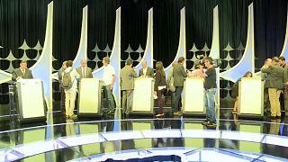 Fernando Haddad foi o principal alvo do penúltimo debate
