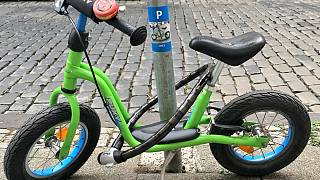 A 4-year-old boy gets parking spot for his bike in Germany