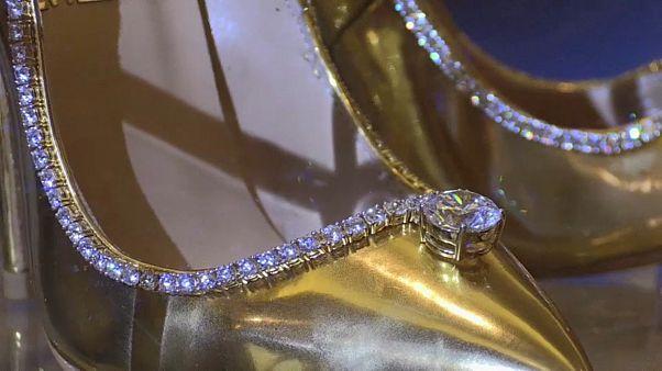نمایش گرانترین کفشهای جهان در دوبی