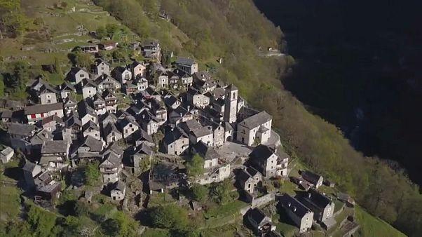 Uma aldeia suíça vai ser um hotel