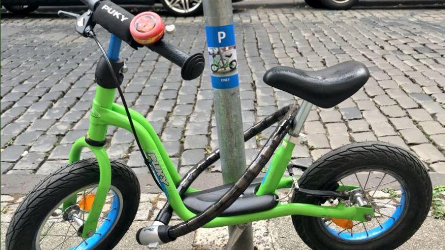 Der viral gewordene Fahrradparkplatz