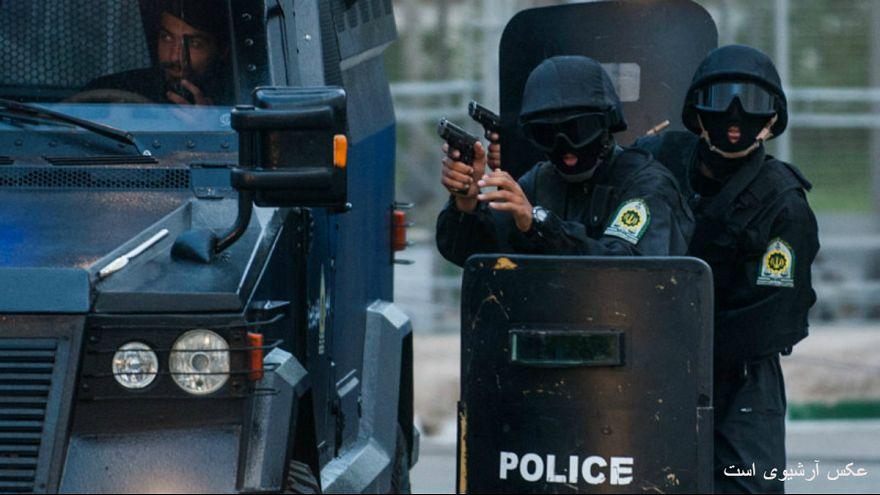دلیل حضور گسترده نیروهای یگان ویژه در خیابان تهران