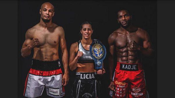 الملاكمة: ليسيا بودرسة من أصول جزائرية تنافس من أجل اللقب العالمي في وزن الريشة في مدينة ليل