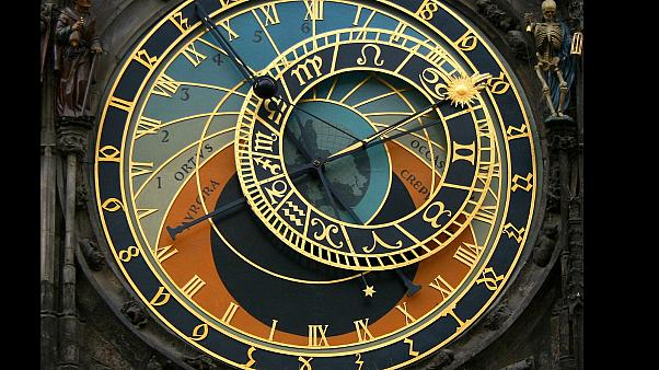 Prague's 600-year-old medieval clock returned