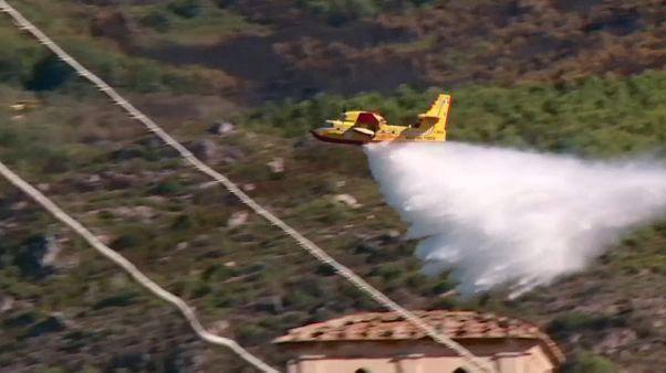 Incendi in Toscana: gli ultimi focolai nel pisano sono stati domati