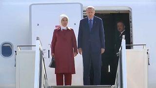 Tüntetéshullám Erdogan berlini látogatásán