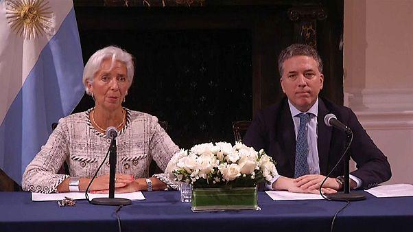 IWF stockt Finanzhilfe für Argentinien auf