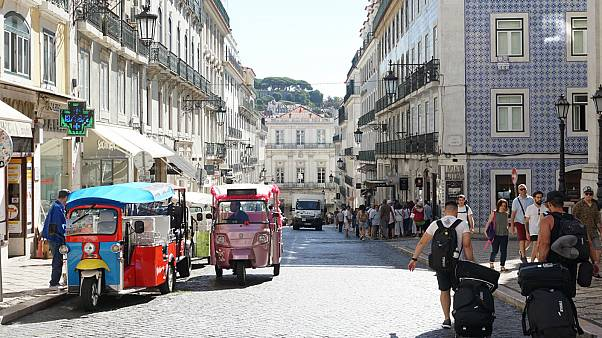 Anti-austerity, tourist boom and a pink house in Lisbon