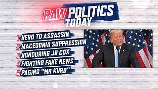 Raw Politics: Skripal latest, concern over Macedonia vote, honouring Jo Cox and fighting fake news