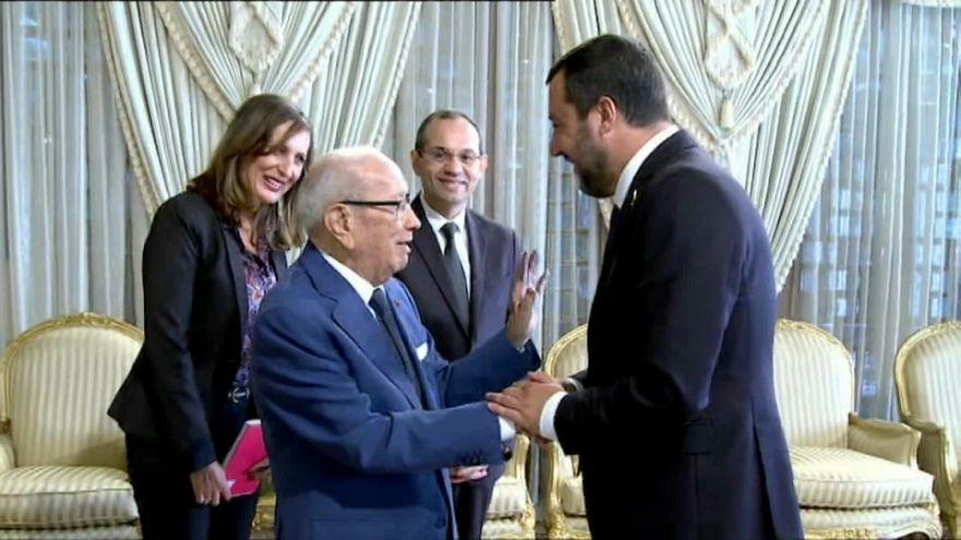 Salvini in Tunisia: cooperazione ma per Tunisi resta il limite ai rimpatri