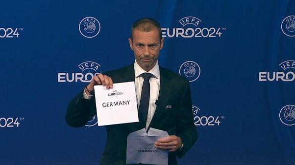 Alemania acogerá la Euro 2024