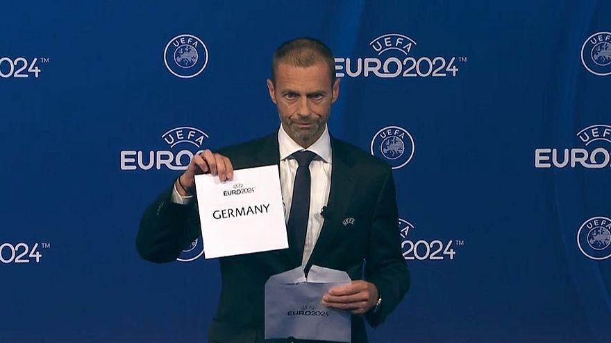 Alemanha vai organizar Euro2024