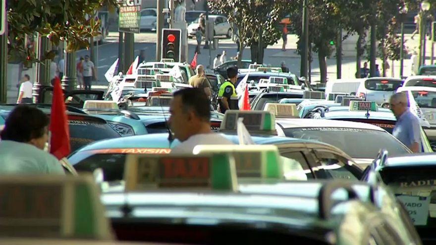 Таксисты уехали - закон остался