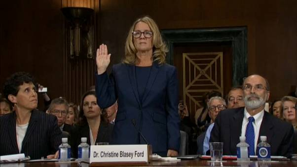 Blasey confirma ao Senado tentativa de violação de Kavanaugh