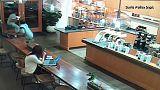Insolite : un vol filmé par une caméra de vidéosurveillance