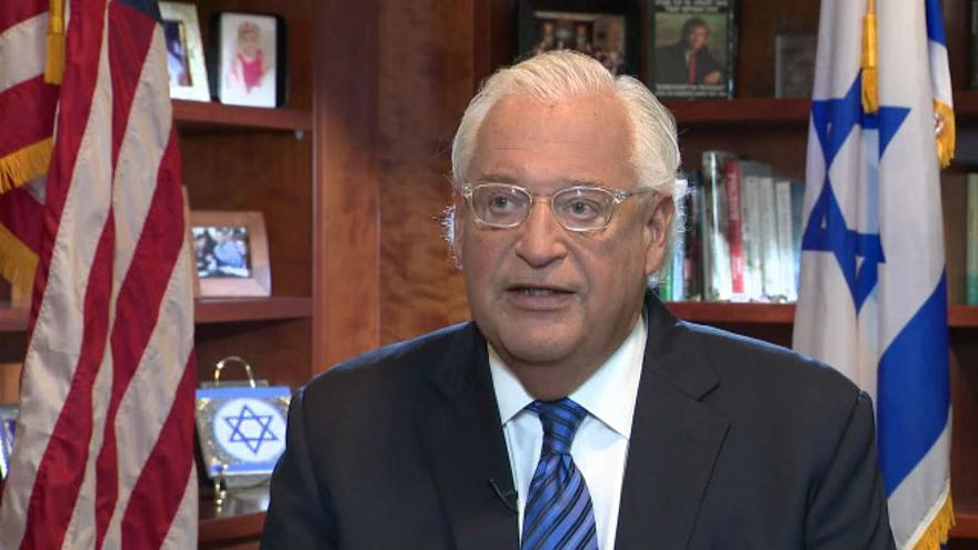 سفير واشنطن في إسرائيل: أنا منحاز لأمن لإسرائيل وقطع التمويل عن الفلسطينيين ليس تكتيكا بل مسألة مبدأ