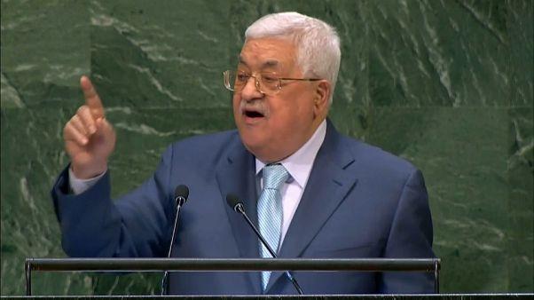 عباس أمام الجمعية العامة: عاصمتنا القدس الشرقية وليس في القدس الشرقية فلا أحد يضحك علينا