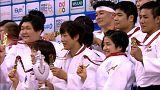 Equipa do Japão ganha Mundiais de judo