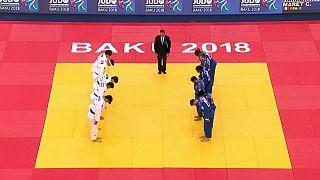 جودو؛ قهرمانی ژاپن در رقابت های تیمی و مدال برنز برای تیم مشترک دو کره