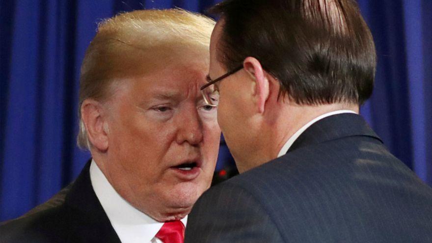 Beklenen randevu iptal: Trump ve 'kovulmayı bekleyen' Rosenstein haftaya görüşecek