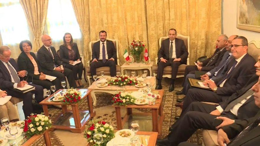 Matteo Salvini viaja a Túnez para hablar de inmigración