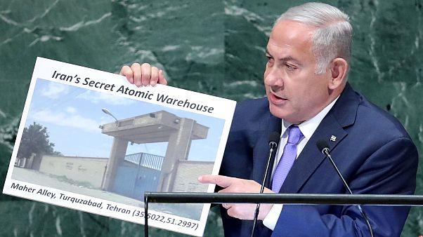 Netanyahu acusa Irão de manter armazém com material nuclear