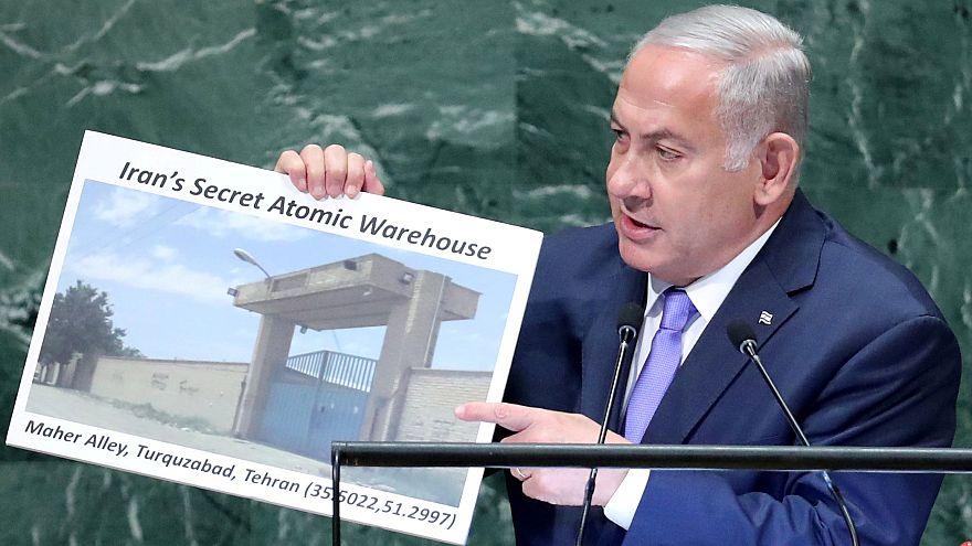 Netanyahu: Claims Iran has a secret nuclear warehouse