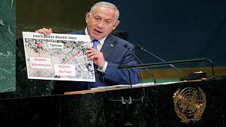 نتانیاهو در سازمان ملل: ایران در تاسیسات سری ۳۰۰ تن مواد و تجهیزات برای سلاح های هسته ای دارد