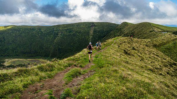 A euronews aventura-se no Trail dos Açores