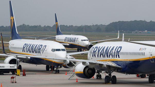 Les avions de Ryanair cloués au sol par une grève interne