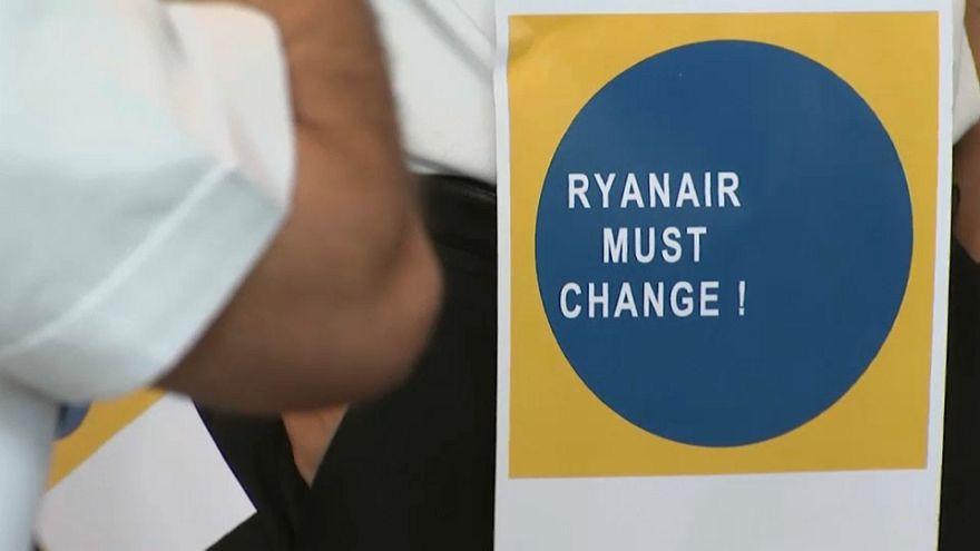 Ryanair-Flieger bleiben Freitag am Boden