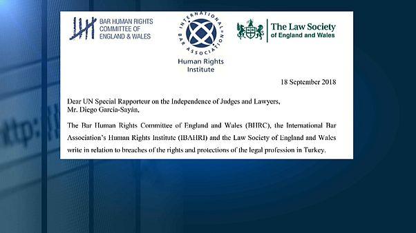 Hukuk örgütleri Türkiye'yi BM'ye şikayet etti: Yargı bağımsızlığı kaybediliyor