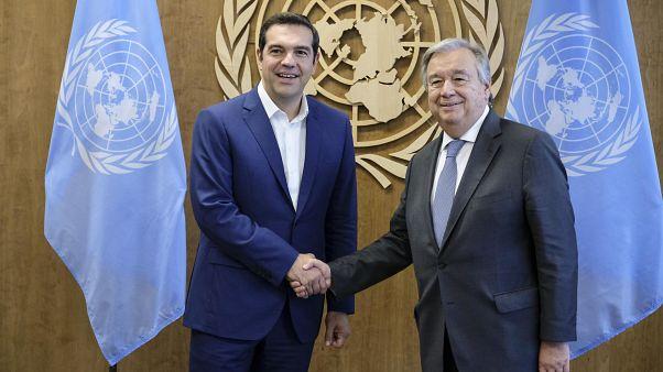 Συγχαρητήρια Γκουτέρες για προσφυγικό - συμφωνία των Πρεσπών