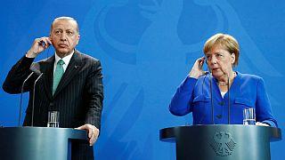 دیدار اردوغان و مرکل؛ وعده نشست چهار جانبه درباره سوریه بدون حضور ایران