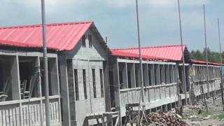 Ilha da discórdia é novo lar de refugiados