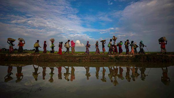 Rohingya: Bangladesch baut Flüchtlingsinsel eine Stunde vom Festland