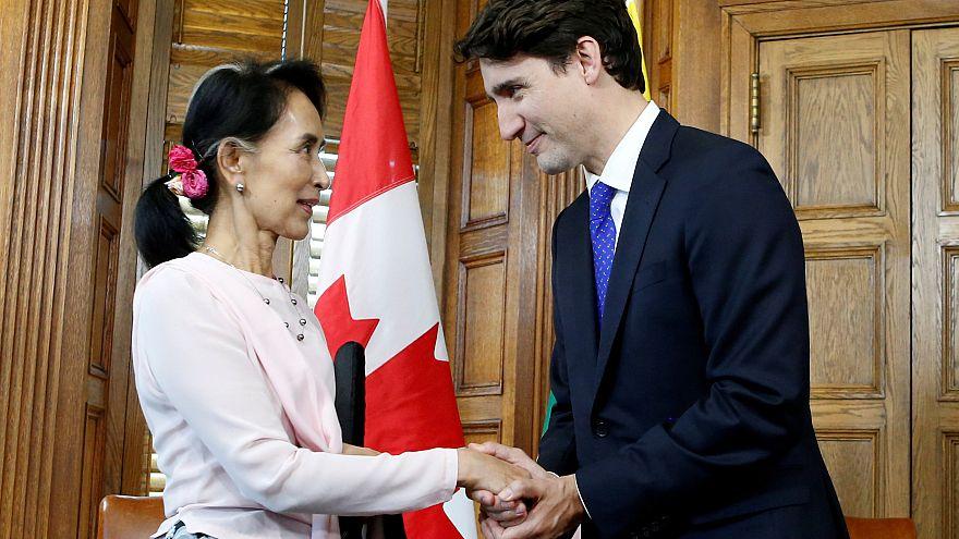 Le Canada retire sa citoyenneté d'honneur à  Aung San Suu Kyi