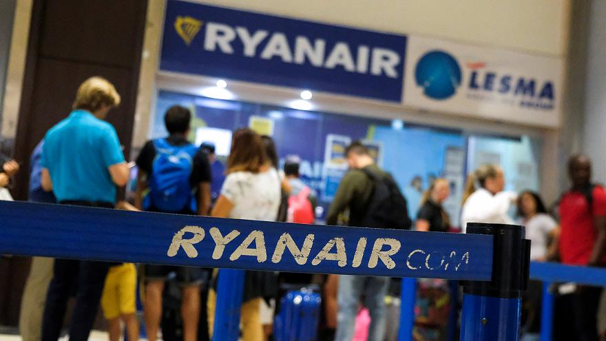 Ryanair staff are striking in several EU countries on Friday