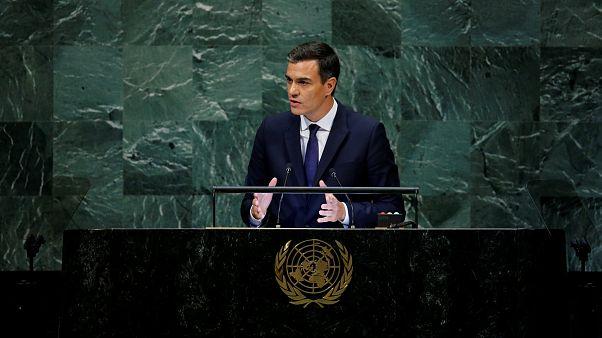 Sánchez rechaza en la ONU los mensajes nacionalistas y excluyentes