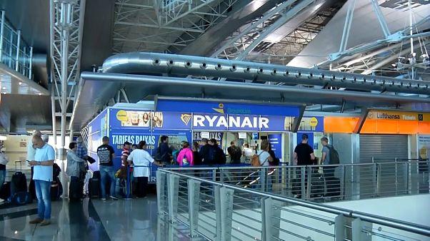 Ryanair, çalışanların grevi yüzünden 250 uçuşu iptal etmek zorunda kaldı