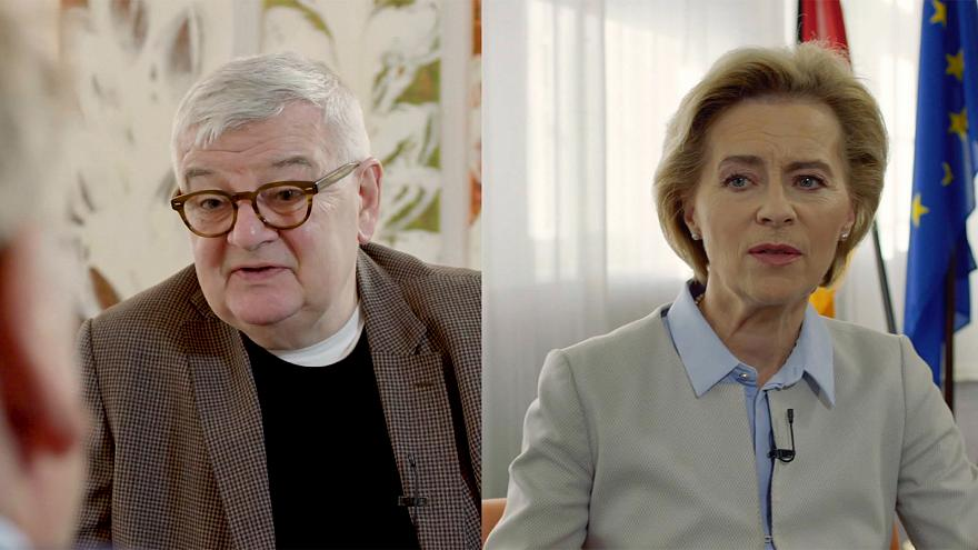 History & responsibility: Germany's global role | Uncut with Fischer and von der Leyen