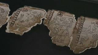 Thousand year old Mayan-style text goes on display in Mexico City