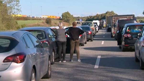 Полицейская операция вызвала транспортный коллапс в Дании
