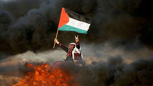 مقتل 7 فلسطينيين بينهم طفلان برصاص الجيش الإسرائيلي في مظاهرات العودة الكبرى